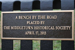 13th and 14th Bench Placements - Middletown Deleware, April 17, 2015